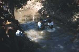Watciku baptismal service