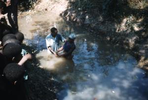 Waticku baptismal service